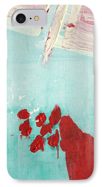 IPhone Case featuring the painting Left Turn Lane  C2013 by Paul Ashby