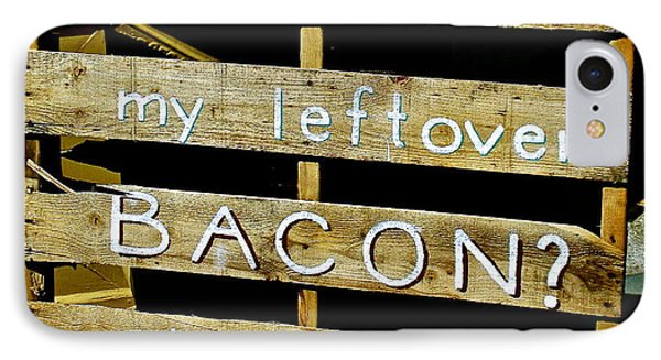 Leftover Bacon IPhone Case by Jeff Gater