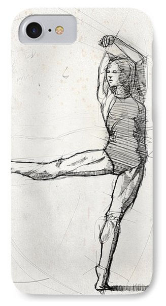 Leg Study IPhone Case