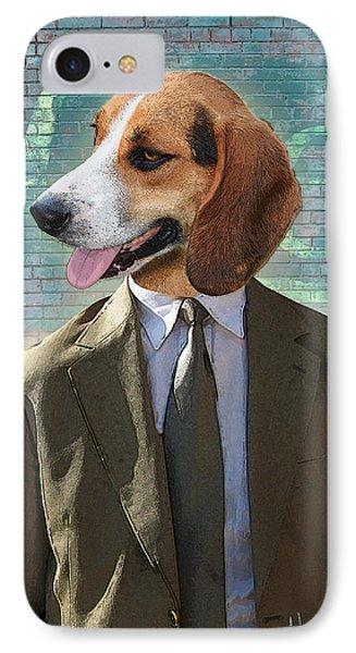 Legal Beagle Phone Case by Nikki Smith