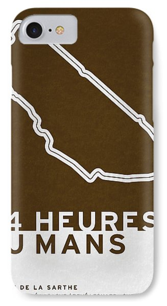 Legendary Races - 1923 24 Heures Du Mans IPhone Case