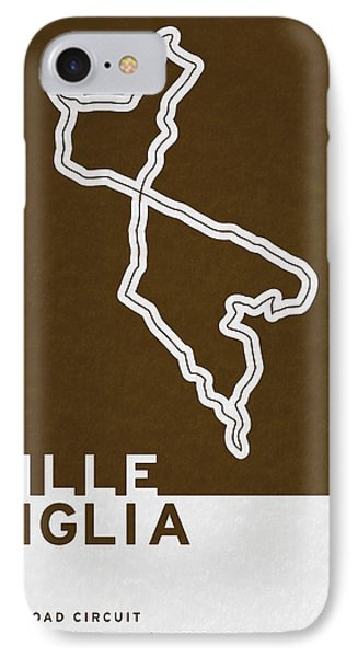 Legendary Races - 1927 Mille Miglia IPhone Case by Chungkong Art