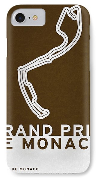 Legendary Races - 1929 Grand Prix De Monaco IPhone Case by Chungkong Art