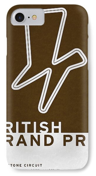 Legendary Races - 1948 British Grand Prix IPhone Case