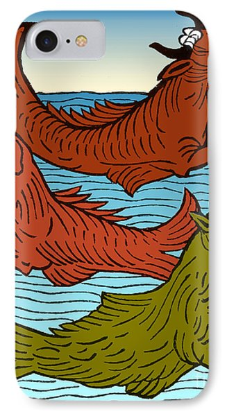 Legendary Sea Creatures, 15th Century IPhone Case