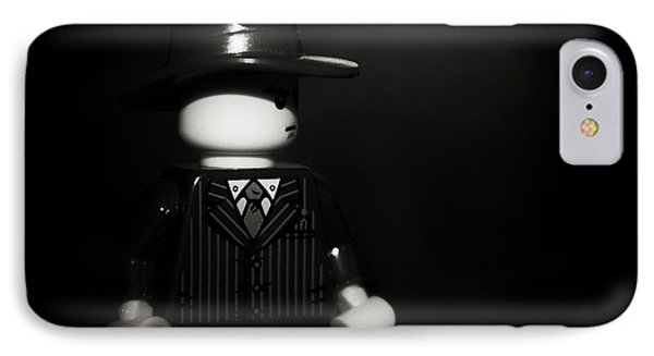 Lego Film Noir 1 IPhone Case by Cinema Photography