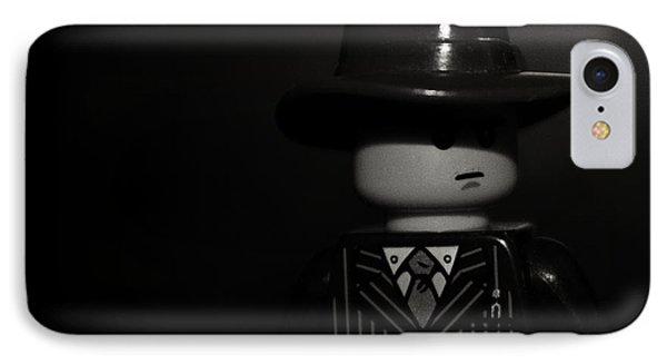 Lego Film Noir II IPhone Case by Cinema Photography