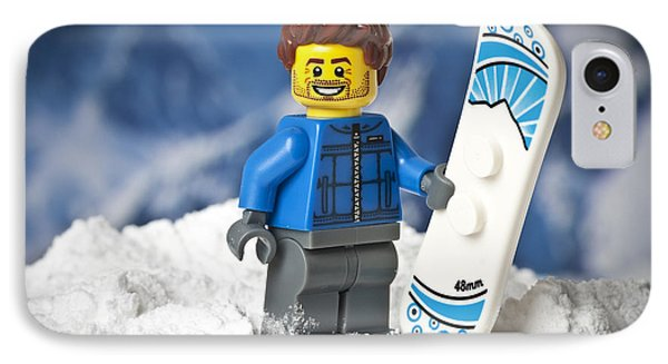 Lego Snowboarder IPhone Case
