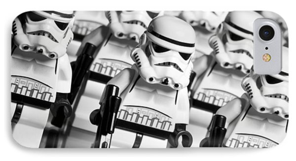 Lego Storm Trooper Army IPhone Case by Samuel Whitton