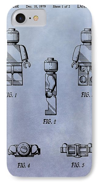 Lego Toy Patent IPhone Case by Dan Sproul