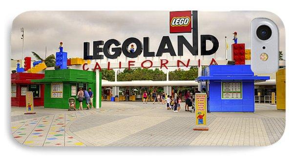 Legoland California Phone Case by Ricky Barnard