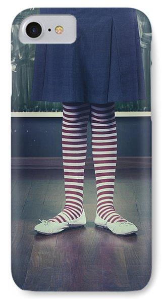 Legs Of A Schoolgirl IPhone Case