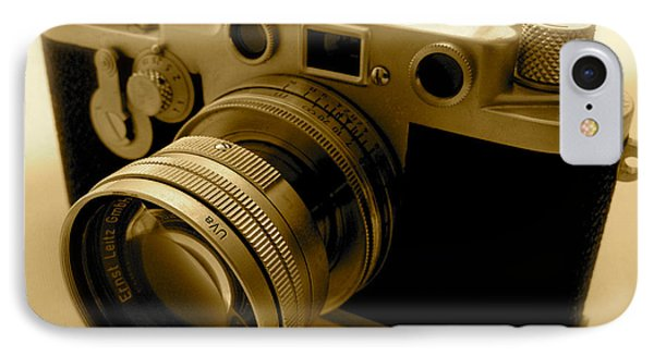 Leica Classic Film Camera IPhone Case by John Colley