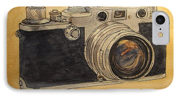 Leica IIif IPhone Case by Juan  Bosco