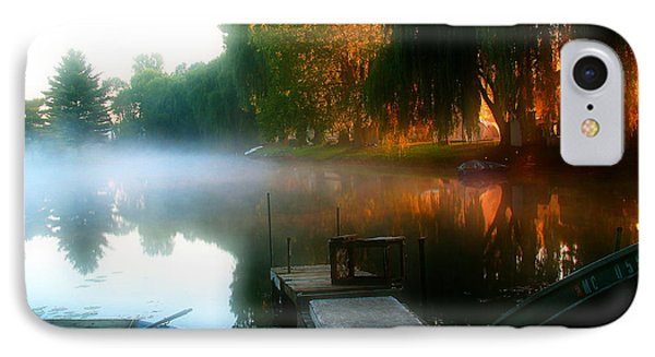 Leidy Lake Campground IPhone Case