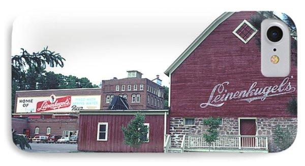 Leinenkugel Brewery Chippewa Falls Wi IPhone Case by Tom Wurl