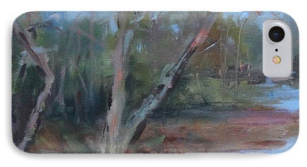 Leiper's Creek Study IPhone Case by Carol Berning