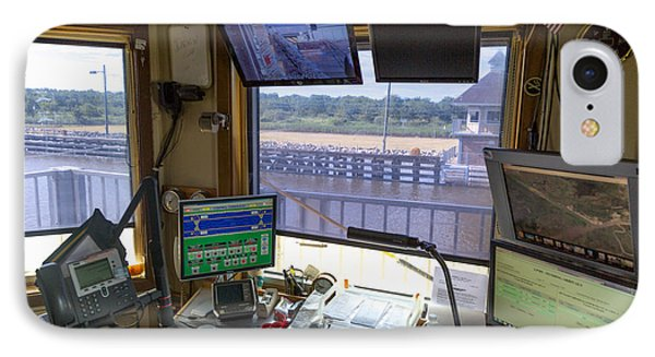 Leland Bowman Locks Control Room IPhone Case