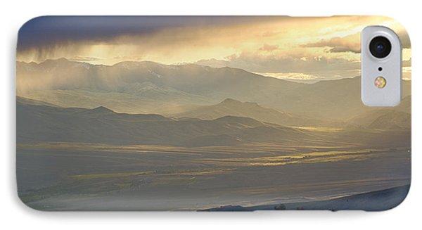 Lemhi Valley Light Phone Case by Idaho Scenic Images Linda Lantzy