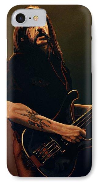 Lemmy Kilmister Painting IPhone Case by Paul Meijering