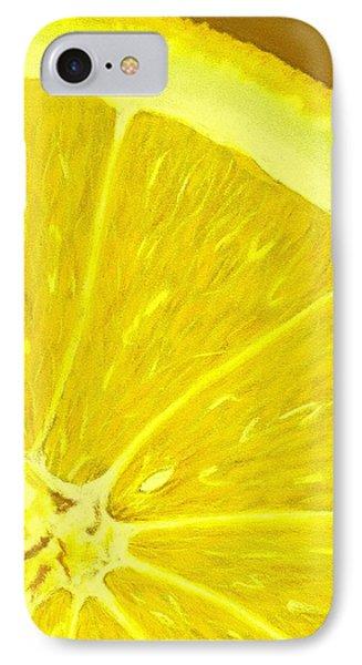 Lemon IPhone Case