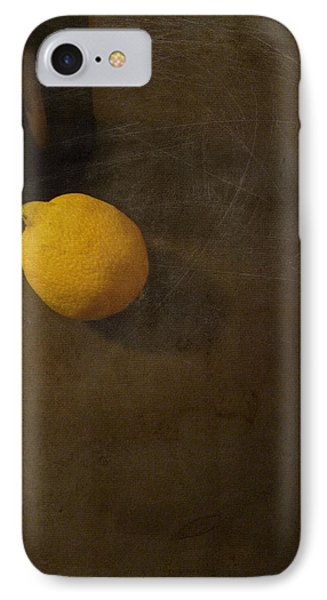 Lemon And Bottle IPhone Case by Lin Haring