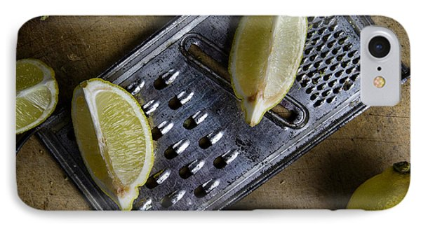 Lemon And Grater IPhone Case by Nailia Schwarz