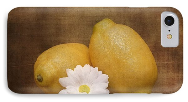 Lemon Fresh Still Life IPhone Case by Tom Mc Nemar