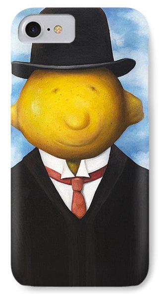 Lemon Head Phone Case by Leah Saulnier The Painting Maniac