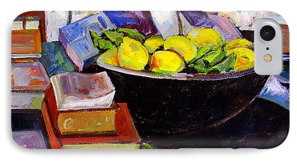 Lemon Meringue IPhone Case