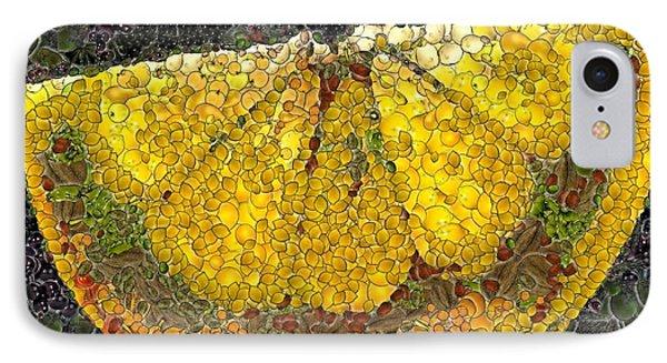 Lemon Slice Phone Case by Dragica  Micki Fortuna