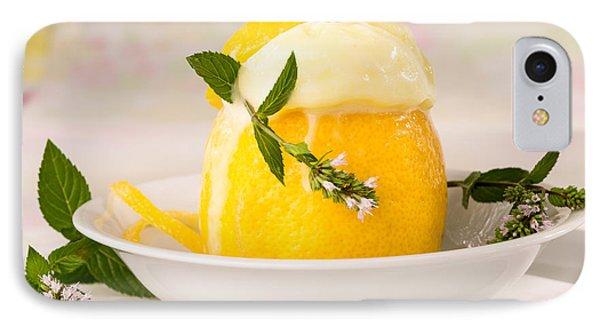lemon Sorbet   IPhone Case by Iris Richardson