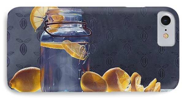 Lemonade Phone Case by Arlene Steinberg