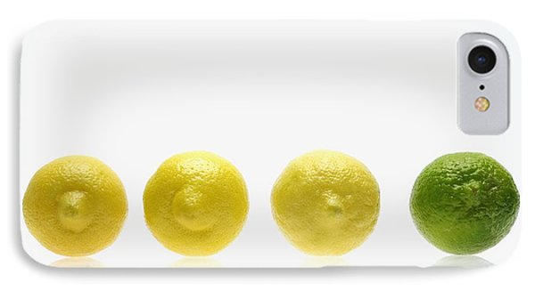 Lemons And Lime Phone Case by Kelly Redinger