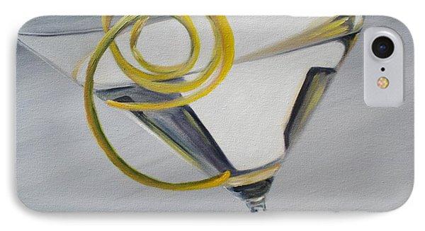 Lemontini Phone Case by Donna Tuten
