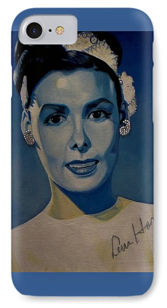 Lena Horne IPhone Case by Chelle Brantley