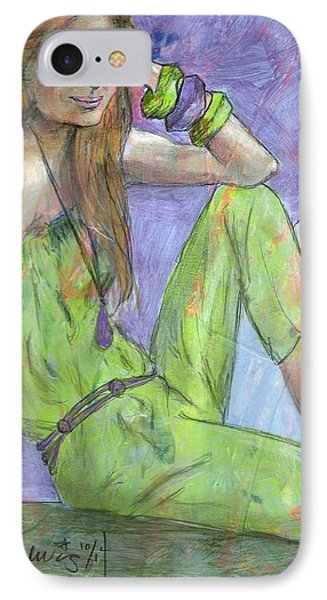 Lensay IPhone Case by P J Lewis