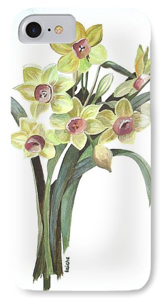 Lent Lily Phone Case by Tracey Harrington-Simpson