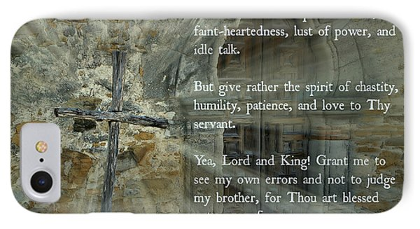 Lenten Prayer Of Saint Ephrem The Syrian IPhone Case