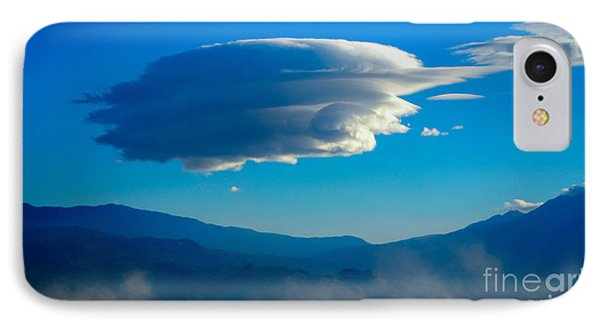 Lenticular Dust Storm IPhone Case by Angela J Wright