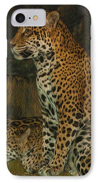 Leo And Friend Phone Case by Jack Zulli