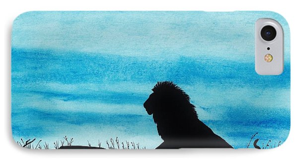 Leo At Sunset IPhone Case by D Hackett