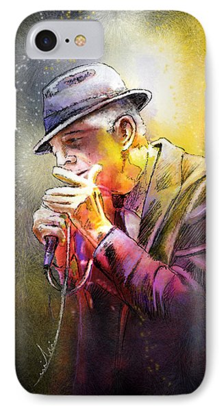 Leonard Cohen 02 IPhone Case