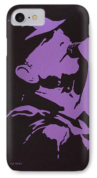 Leonard Cohen The Tower Of Song IPhone Case by John  Nolan