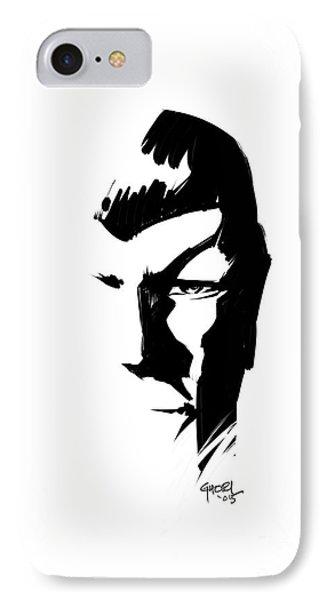 Leonard Nimoy Spock Tribute IPhone Case by Ashraf Ghori