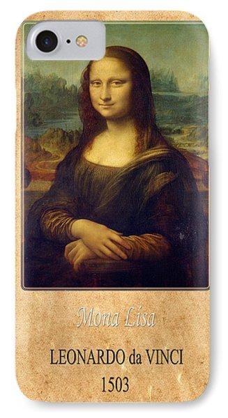Leonardo Da Vinci 1 IPhone Case by Andrew Fare