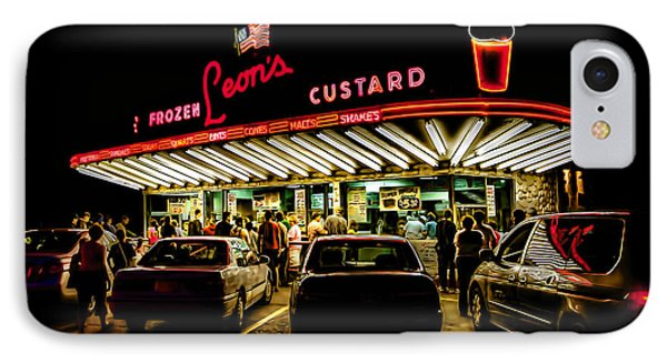 Leon's Frozen Custard IPhone Case