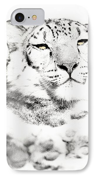 IPhone Case featuring the photograph Leopard Casual by Christopher McKenzie