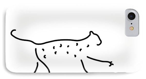 Leopard Cheetah IPhone Case by Lineamentum