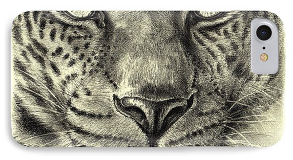 Leopard IPhone Case by Heidi Kriel